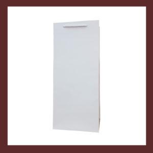 torby laminowane,eleganckie torebki papierowe bez nadruku, biała torebka papierowa, białe laminowane torby papierowe, producent