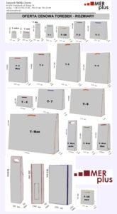 tabela rozmiarów ,torby papierowe ,torby ozdobne, torby laminowane, torby jednokolorowe, toerby eco ręcznie zdobione, recznioe zdobione lux