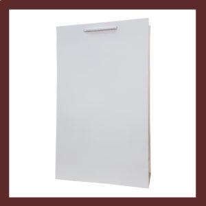 białe torby, laminowane, foliowe ,papierowe