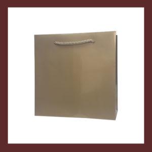torby papierowe, laminowana torba papierowa, złota torba papierowa