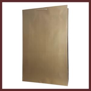 laminowana torba papierowa złota t5,białe torby laminowane, torby papierowe solidne, eleganckie torby bez nadruku