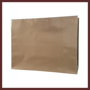 laminowana torba papierowa złota t8,białe torby laminowane, torby papierowe solidne, eleganckie torby bez nadruku