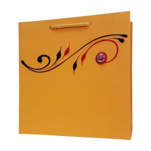 Ręcznie zdobione torby papierowe, rękodzieło, hand made torby lux,