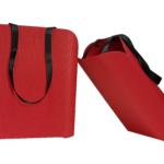 torba z tektury falistej, jednokolorowe torby papierowe
