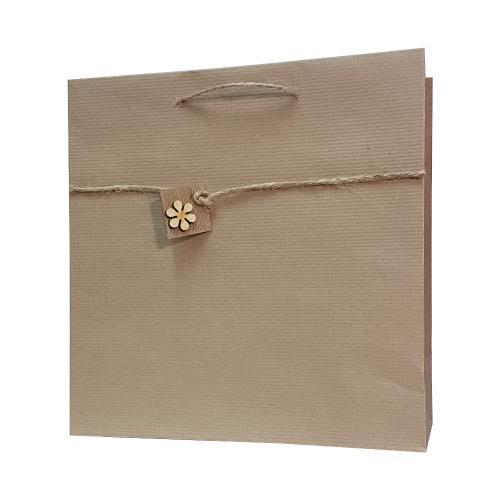 eco ręcznie zdobione torby papierowe 1kwiatek