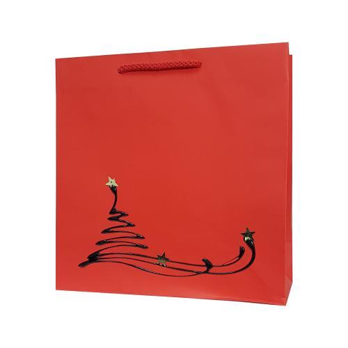 Świąteczne torby papierowe HAND MADE ręcznie zdobione producent Mer Plus