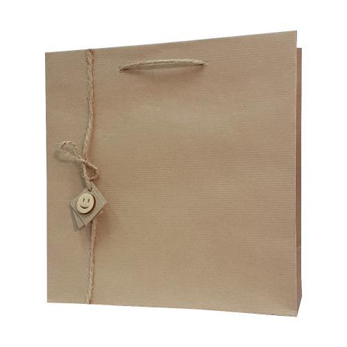 eco ręcznie zdobione torby papierowe emo wisząca