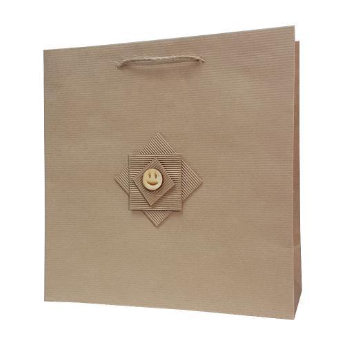 eco ręcznie zdobione torby papierowe emoikonka