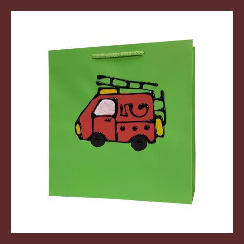 torby dla dzieci , dziecięce torebki papierowe, torby na prezent dla dziecka, ręcznie malowane, hand made