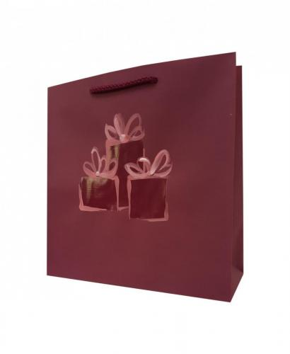 Świąteczne torby papierowe