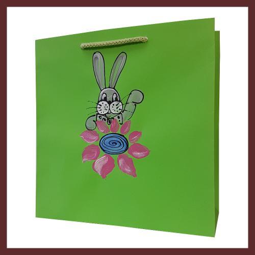 Wielkanocne torby papierowe, torby na Wielkanoc, wzory wielkanocne