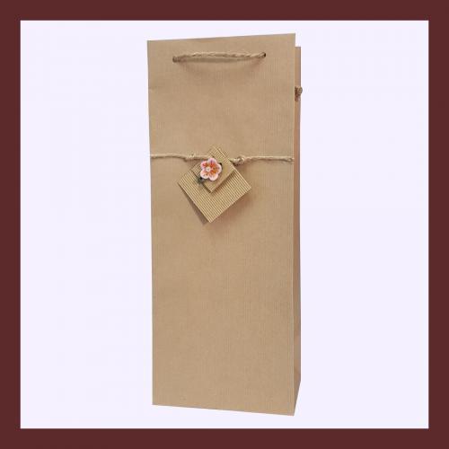 eco ręcznie zdobione torby papierowe