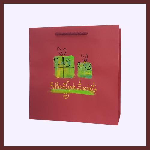 świąteczne torby papierowe, hand made,boże narodzenie 2018
