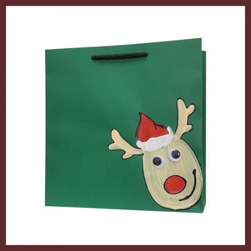 świąteczne torby torby dla dzieci, dziecięce torby na Mikołajki, torby papierowe, producent toreb papierowych
